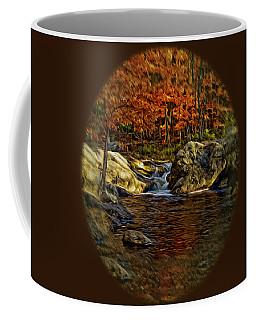 Stream In Autumn 57 In Oil Coffee Mug