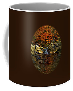 Stream In Autumn 57 In Oil Coffee Mug