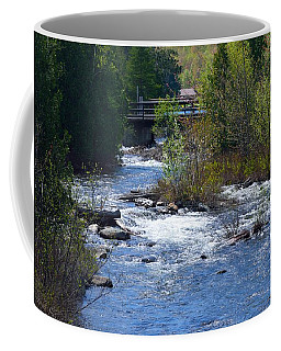 Stream In Spring Coffee Mug by David Porteus