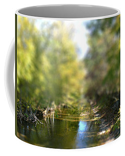 Stream Reflections Coffee Mug by EricaMaxine  Price