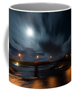 Coffee Mug featuring the photograph Streaming by Alex Lapidus