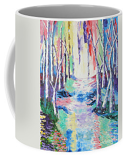 Streaming Colours Coffee Mug