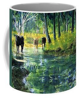 Streaming Cows Coffee Mug