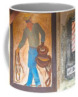 Coffee Mug featuring the photograph Street Art - Melba, Id by Dart Humeston
