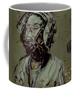 Wheat Paste Art Abstract  Coffee Mug by Sheila Mcdonald