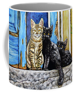 Street Cats Coffee Mug