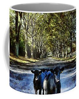 Street Cows Coffee Mug