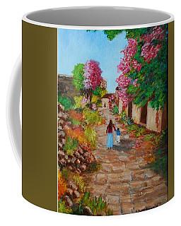 Street In Monemvasia Coffee Mug