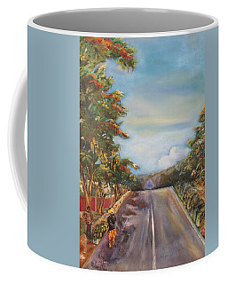 Street In Summer Coffee Mug