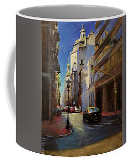 Street Scene In Buenos Aires Coffee Mug