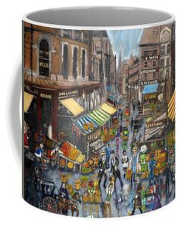Street Scene Market Coffee Mug