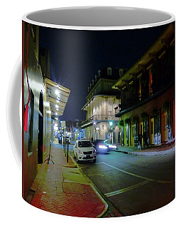 French Quarter Street Scene Coffee Mug