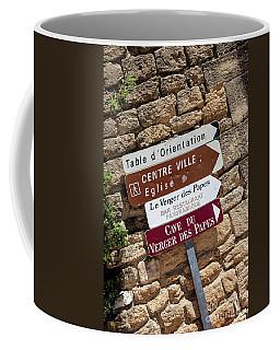 Street Signs Coffee Mug