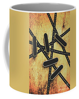 Street Skating Background Coffee Mug