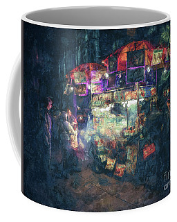 Street Vendor Food Stand Coffee Mug