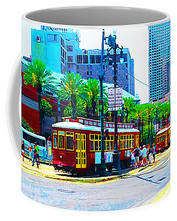 Streetcars In New Orleans Coffee Mug