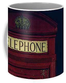 Streetlevel London Red Coffee Mug