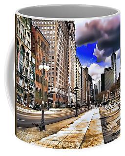 Streets Of Chicago Coffee Mug
