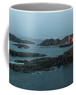 Coffee Mug featuring the photograph Stretching Time by Alex Lapidus