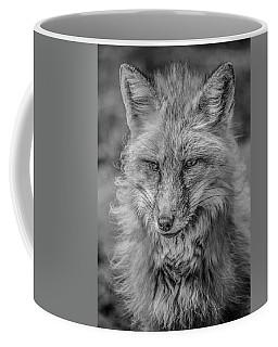 Striking A Pose Black And White Coffee Mug