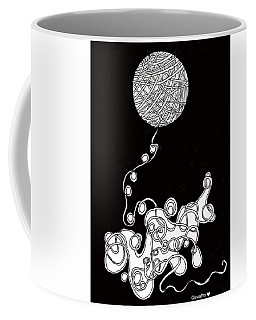 String Energy 1 Coffee Mug by Quwatha Valentine