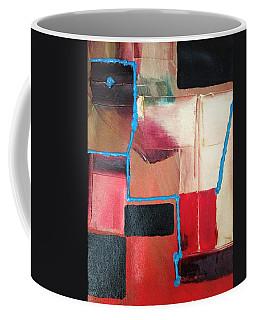 String Theory Abstraction Coffee Mug