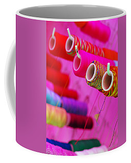 Coffee Mug featuring the photograph String Theory by Skip Hunt