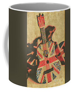 Stringed In Great Britain Coffee Mug
