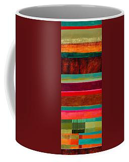 Stripe Assemblage 1 Coffee Mug