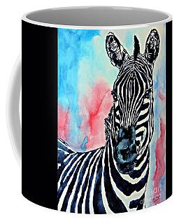 Stripes And A Mohawk Coffee Mug