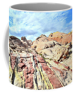 Stripes Of Valley Of Fire Coffee Mug