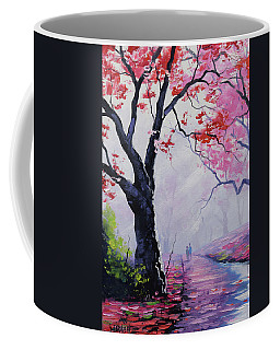 Stroll In The Mist Coffee Mug