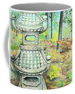 Strolling Through The Japanese Garden Coffee Mug