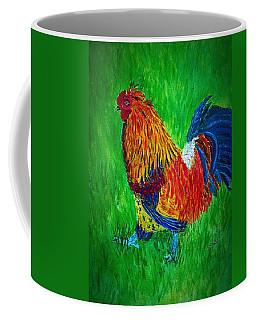 Strutting  Batam Rooster Coffee Mug