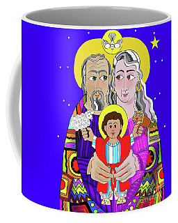 Sts. Ann And Joachim, Grandparents With Jesus - Mmjag Coffee Mug