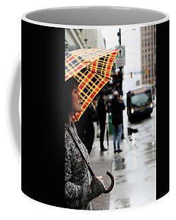 Coffee Mug featuring the photograph Stuck Down by Empty Wall