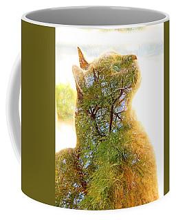Stuck In Cat Coffee Mug
