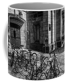 Student Parking Coffee Mug by Karol Livote