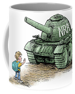 Students Vs The Nra Coffee Mug