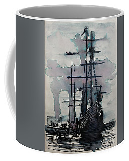 Study For Sailing Vessel Pandora Coffee Mug