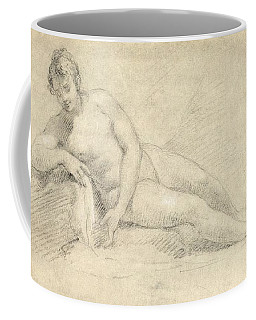 Study Of A Female Nude  Coffee Mug
