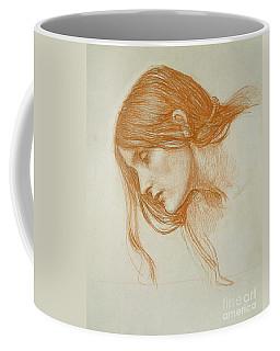 Study Of A Girls Head Coffee Mug