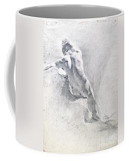 Study Of A Male Nude Coffee Mug