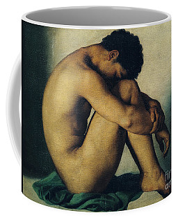 Study Of A Nude Young Man Coffee Mug