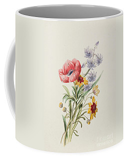 Study Of Wild Flowers Coffee Mug