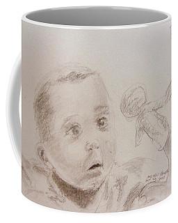 Studying Fingerpuppets Coffee Mug