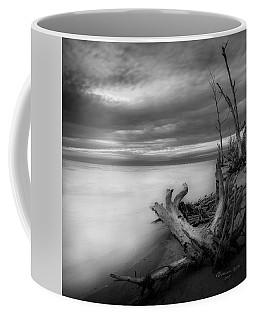 Stump Island -bw Coffee Mug