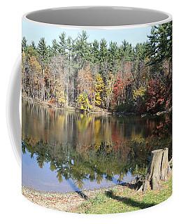 Coffee Mug featuring the photograph Autumn At Lake Williams by Donald C Morgan