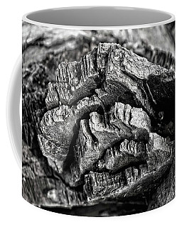 Stump Texture Coffee Mug