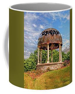Coffee Mug featuring the photograph Stumpf Belvedere by Trey Foerster
